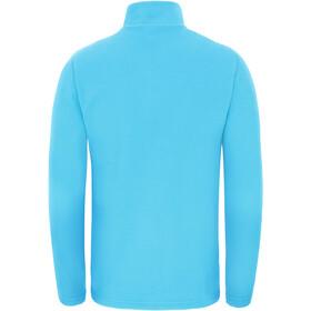 The North Face Glacier Sweat-shirt avec Fermeture éclair 1/4 Enfant, acoustic blue